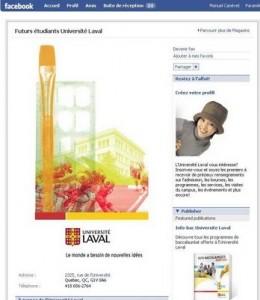 Universit laval une page facebook pour ses futurs - Journee porte ouverte universite laval ...