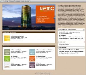 page itunes U UPMC