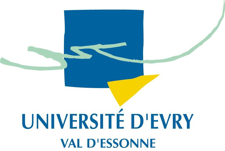 Ancien logo de l'université d'Evry-Val-d'Essonne