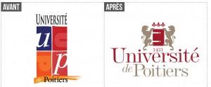 Logo avant/après université de Poitiers